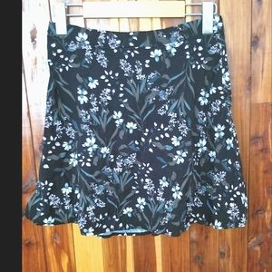Dynamite miniskirt with floral print